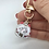 Thumbnail: Japanese  Maneki Lucky Cat Key Chain/ Locks/ Charms-Holographic