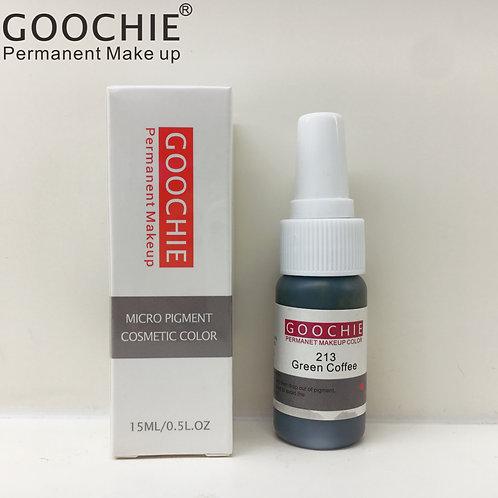 Goochie Pure Organic Pigments #213 Green Coffee