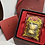 Thumbnail: Tiger Omamori/ Amulet- 24K Au999 Gold Foil- w/ Chinese Herbal Medicine