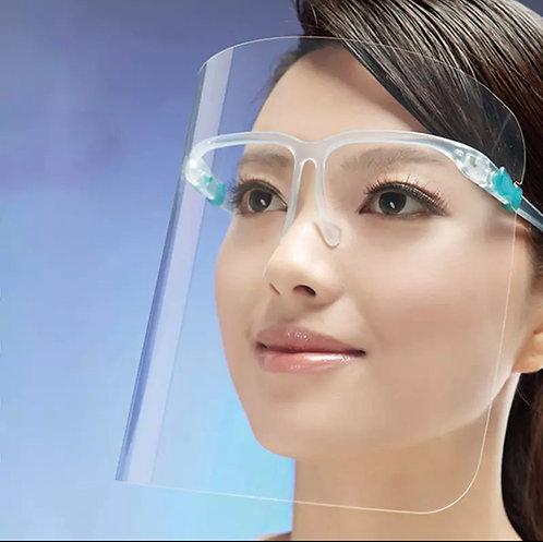 Anti-Fog Face Shield (Plastic Glass) (Set of 5)