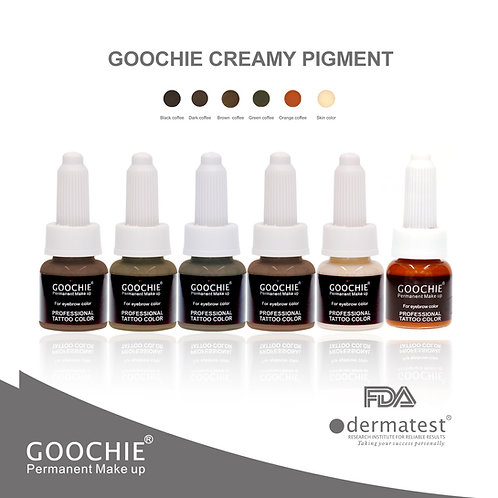 GOOCHIE Pure Plant Extract Microblading Pigments