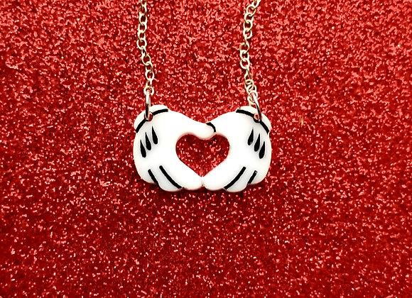 Love Hands necklace