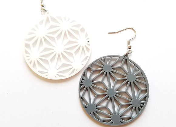 Spaceship Earth earrings