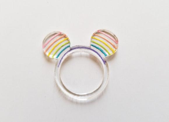 Rainbow M Ears
