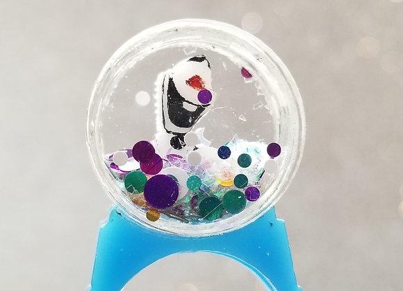 Snowglobe ring