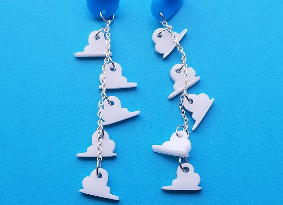 TS Clouds dangle earrings