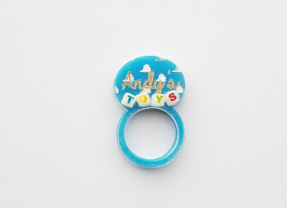 Andy's Toys ring