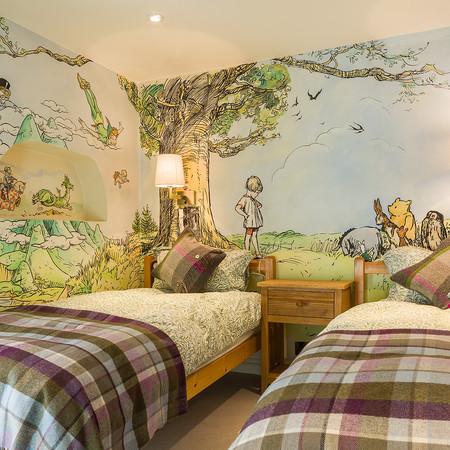 Cotswold Retreat   Bespoke Mural Winnie