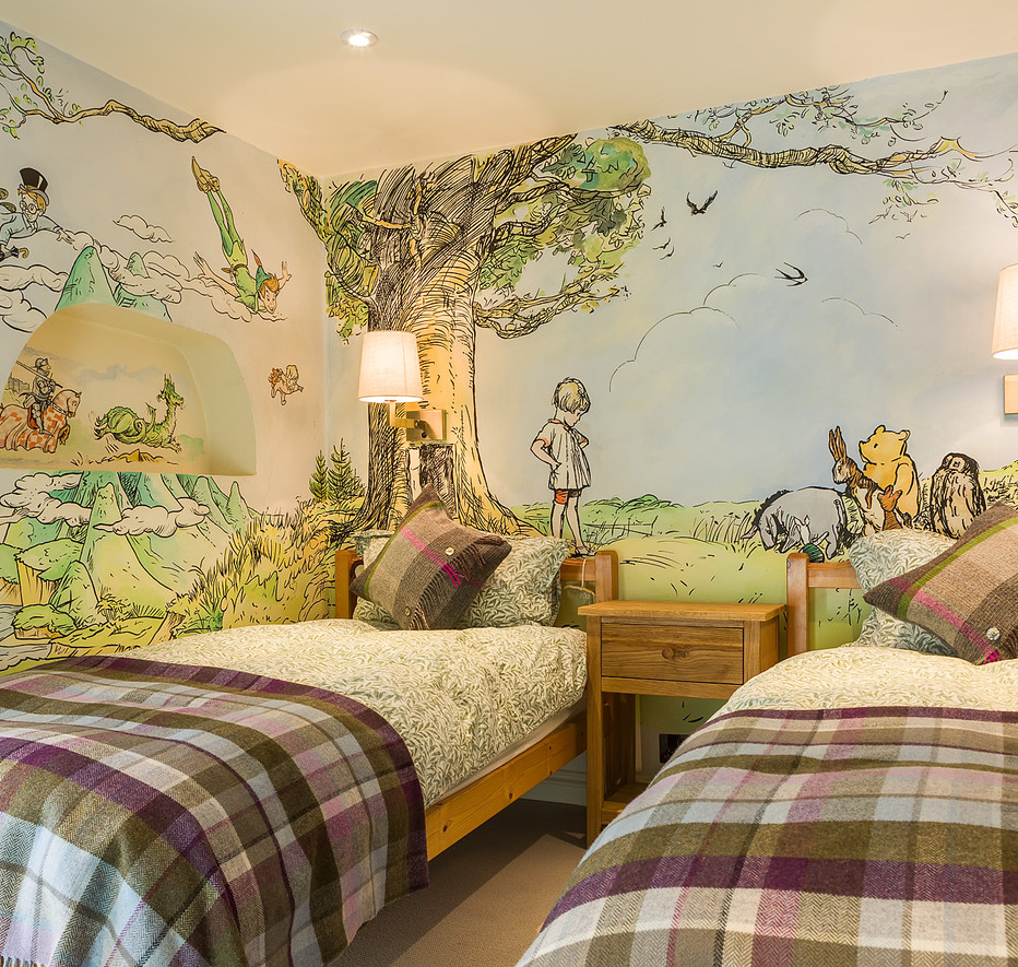 Cotswold Retreat | Bespoke Mural Winnie