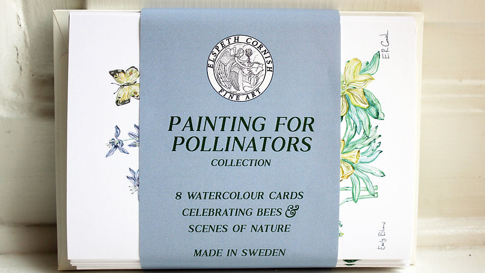 Painting for Pollinators | Greet Card Set of 8