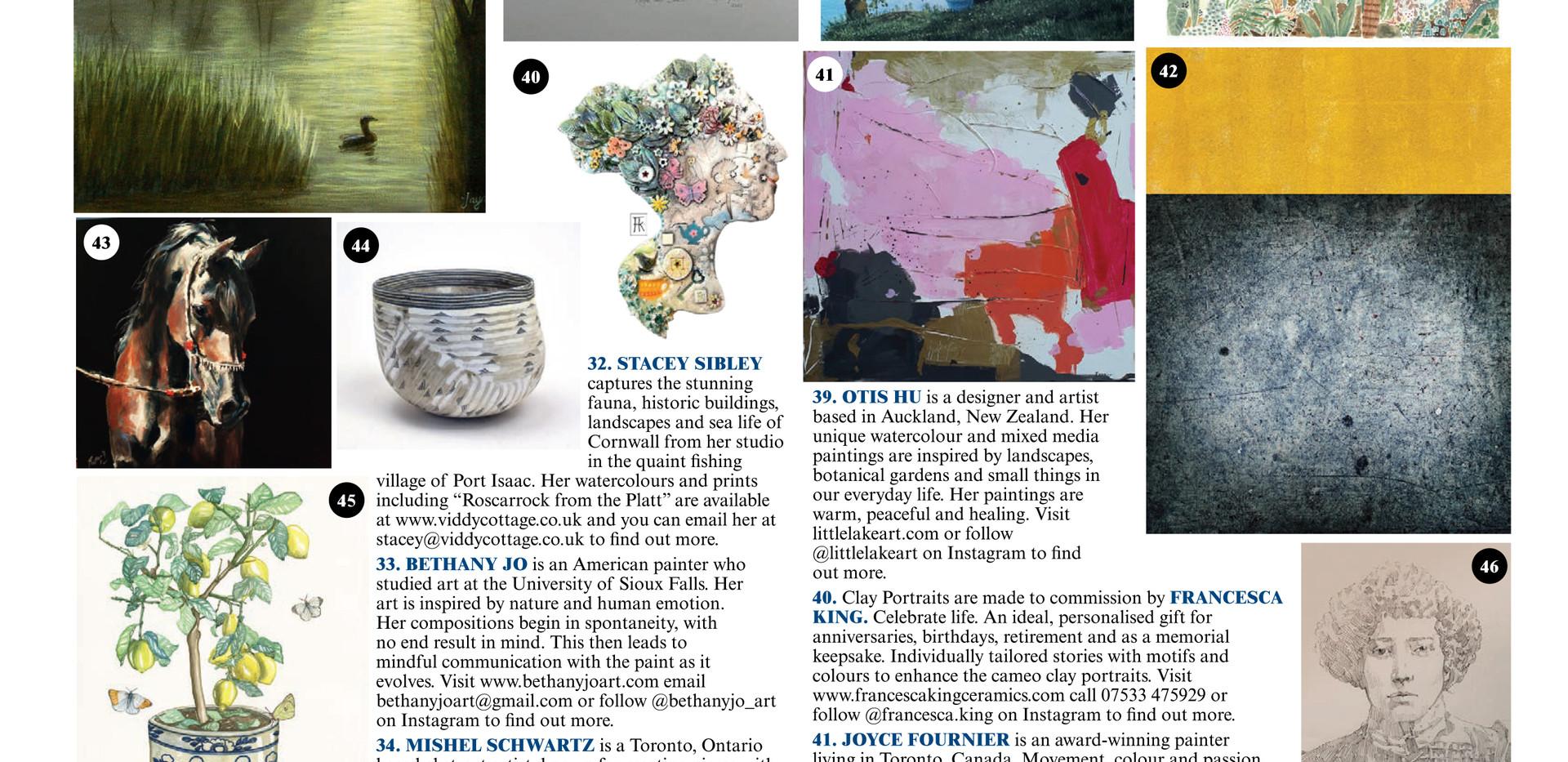 140 The Art Edit H&G July Aug 20
