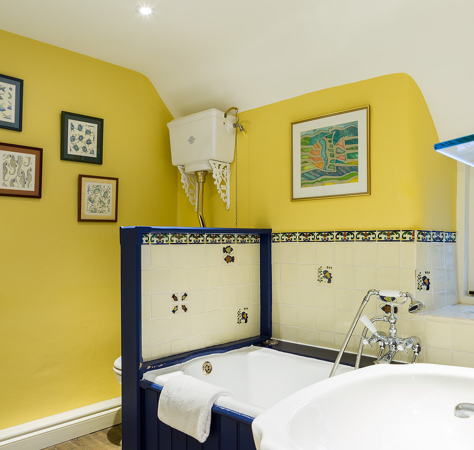 Cotswold Retreat | Yellow Bathroom .jpg