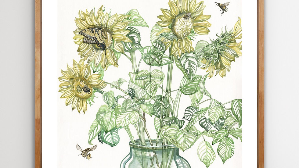 Let it Bee   70 x 70   limited edition print