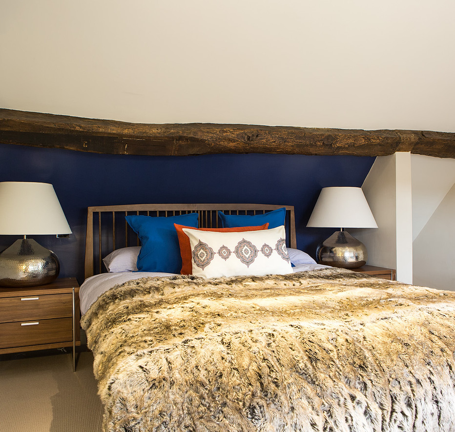 Cotswold Retreat | Blue Bedroom .jpg