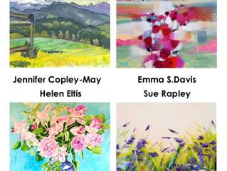 Helen Eltis Painting in Cambridge