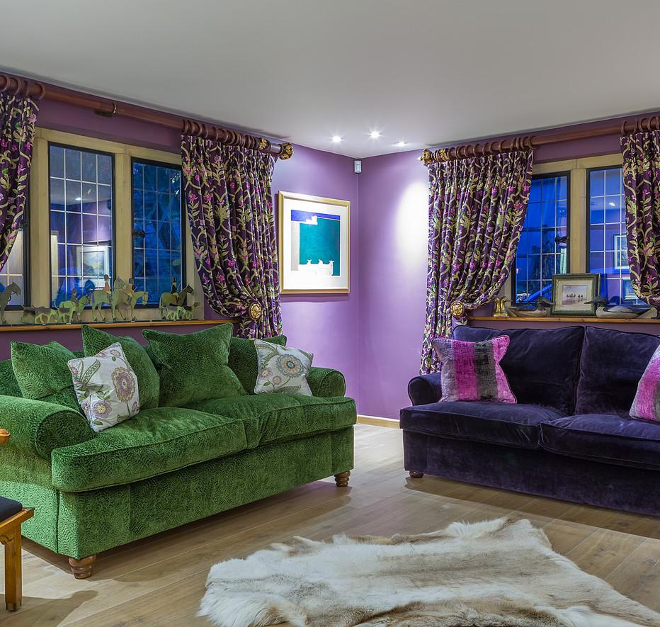Cotswold Retreat   Living room (Designer