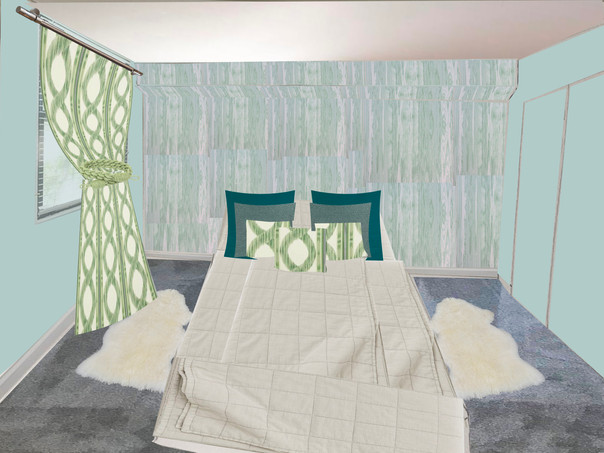 guestroom - sketch with finishes 200306.