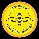 Stockholm Loves Pollinators Badge.png