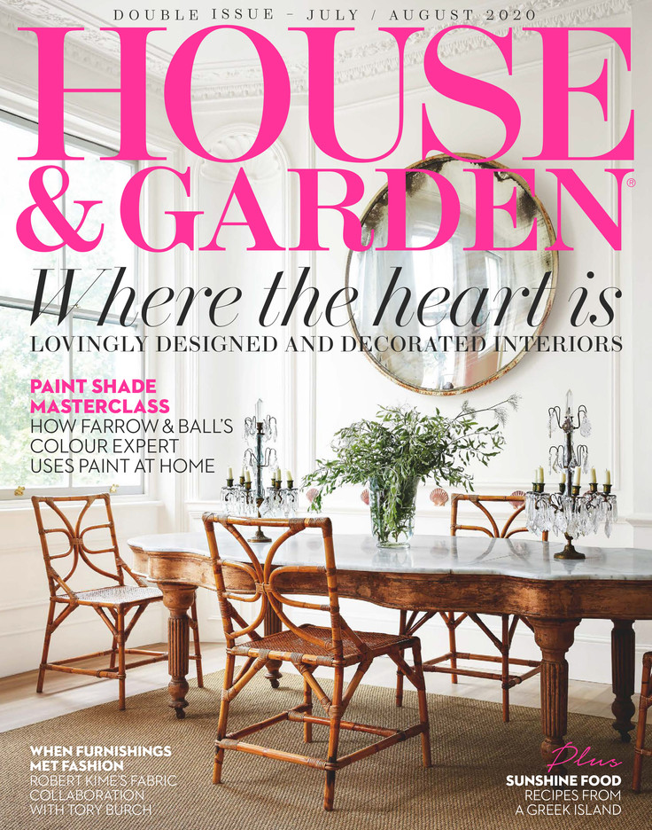 H&G July August 20 Cover