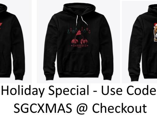 Shrouded Gaming XMAS Merchandise