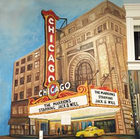 Chicago Kid's Playroom Mural