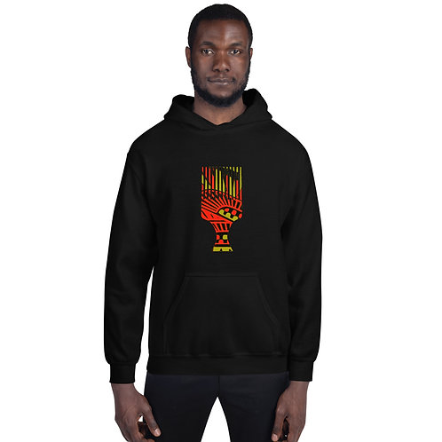 Afro Hooded Sweatshirt