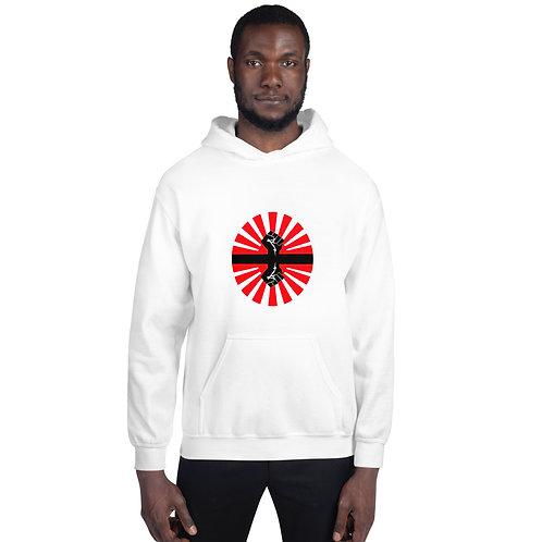 Black PowerHooded Sweatshirt