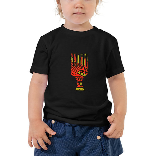 Afro Toddler Short Sleeve Tee