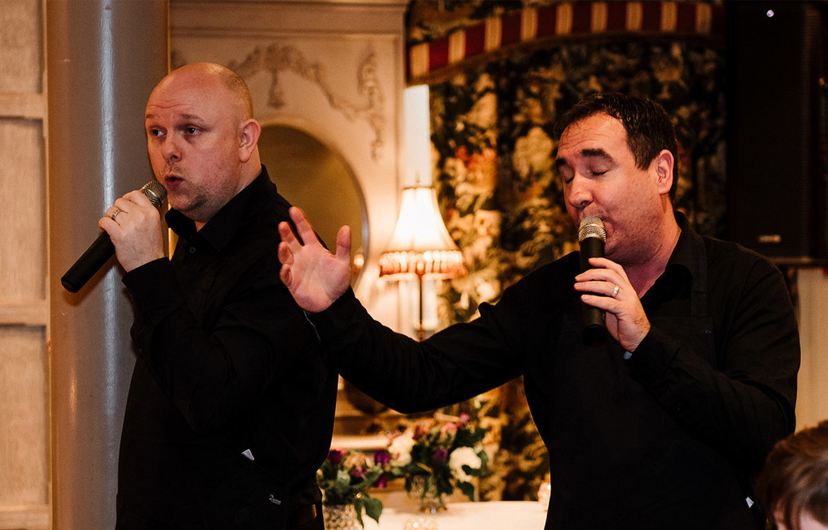 The Sing Along Waiters Singing
