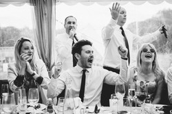 The Sing Along Waiters Getting into it!.