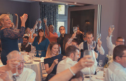 The Sing Along Waiters Crowd Fun