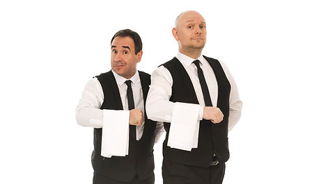 The Sing Along Waiters Mark & Lisa