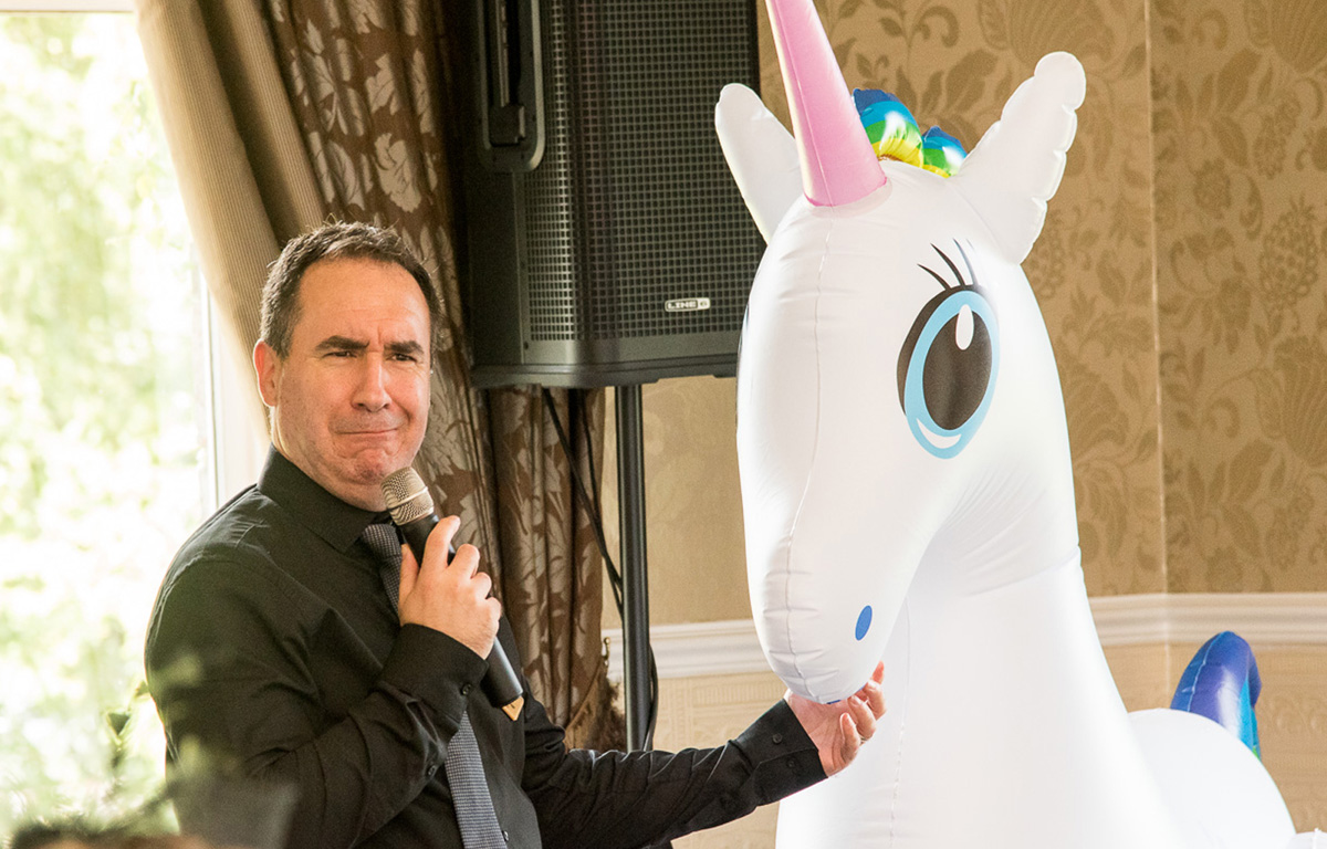 The Sing Along Waiters Who's Unicorn Is