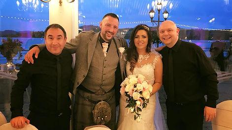 The Sing Along Waiters Bride & Groom Loc