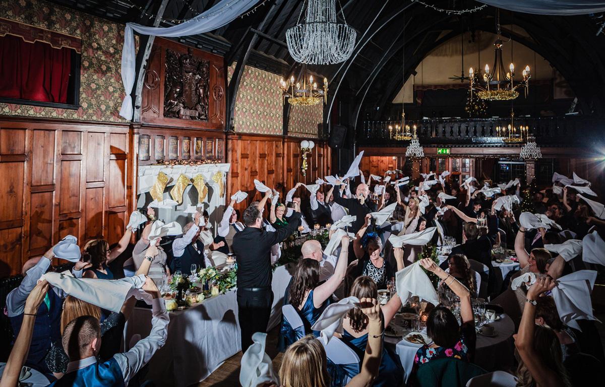 The Sing Along Waiters Big Swing