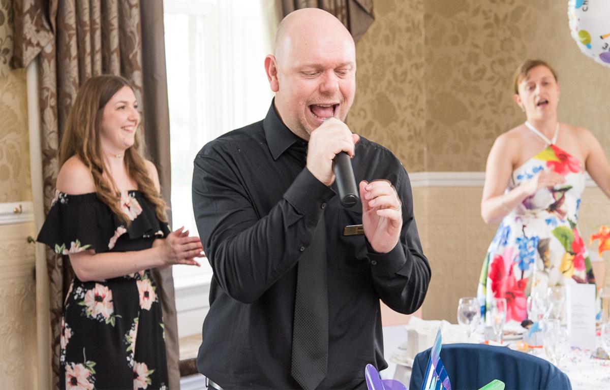The Sing Along Waiters Yeaahhh!