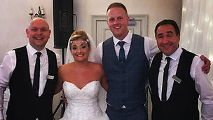 The Sing Along Waiters Bride & Groom Mot