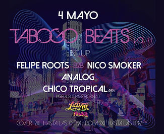Eventos Tabogo Beats