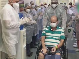 Brasil assume primeiro lugar em número de recuperados de covid-19