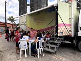 Mamógrafo móvel da Prefeitura do Recife distribui 1.600 fichas em dezembro