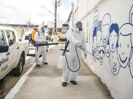 Prefeitura do Recife completou dez mil visitas para sanitização de espaços públicos
