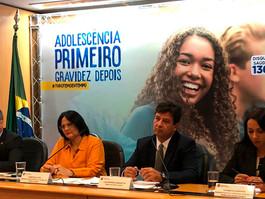 Ministério da Saúde lança campanha de prevenção de gravidez na adolescência