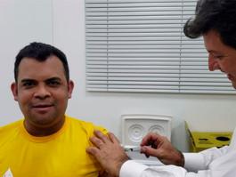 Governo brasileiro lança ação de vacinação nas fronteiras
