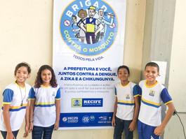 Prefeitura do Recife instala brigada contra o mosquito Aedes Aegypti em escola do Ipsep