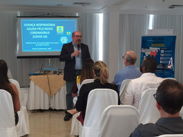 Secretaria de Saúde do Recife capacita profissionais para orientar turistas sobre coronavírus