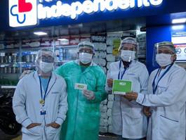 Farmácia Independente oferece testes rápidos para Covid-19