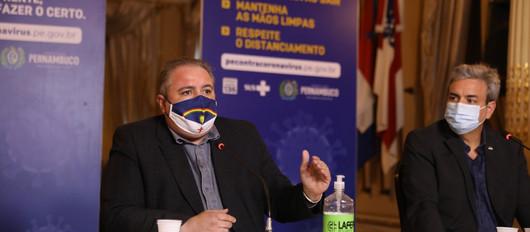 Governo de Pernambuco abre 107 novos leitos para a Covid-19