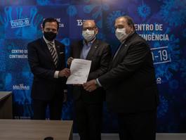 Instituto Butantan e Sinovac Biotech vão produzir vacina contra covid-19