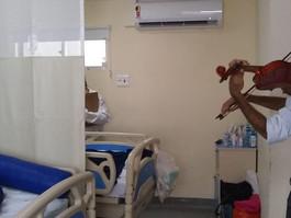 Hospital Casa Forte implementa musicoterapia no tratamento de pacientes com câncer