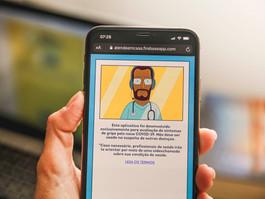 PCR e Governo lançam aplicativo para profissionais de saúde realizarem atendimentos à distância
